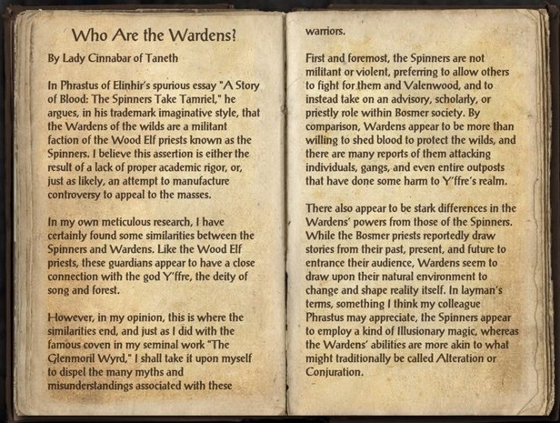 Who are the Wardens?