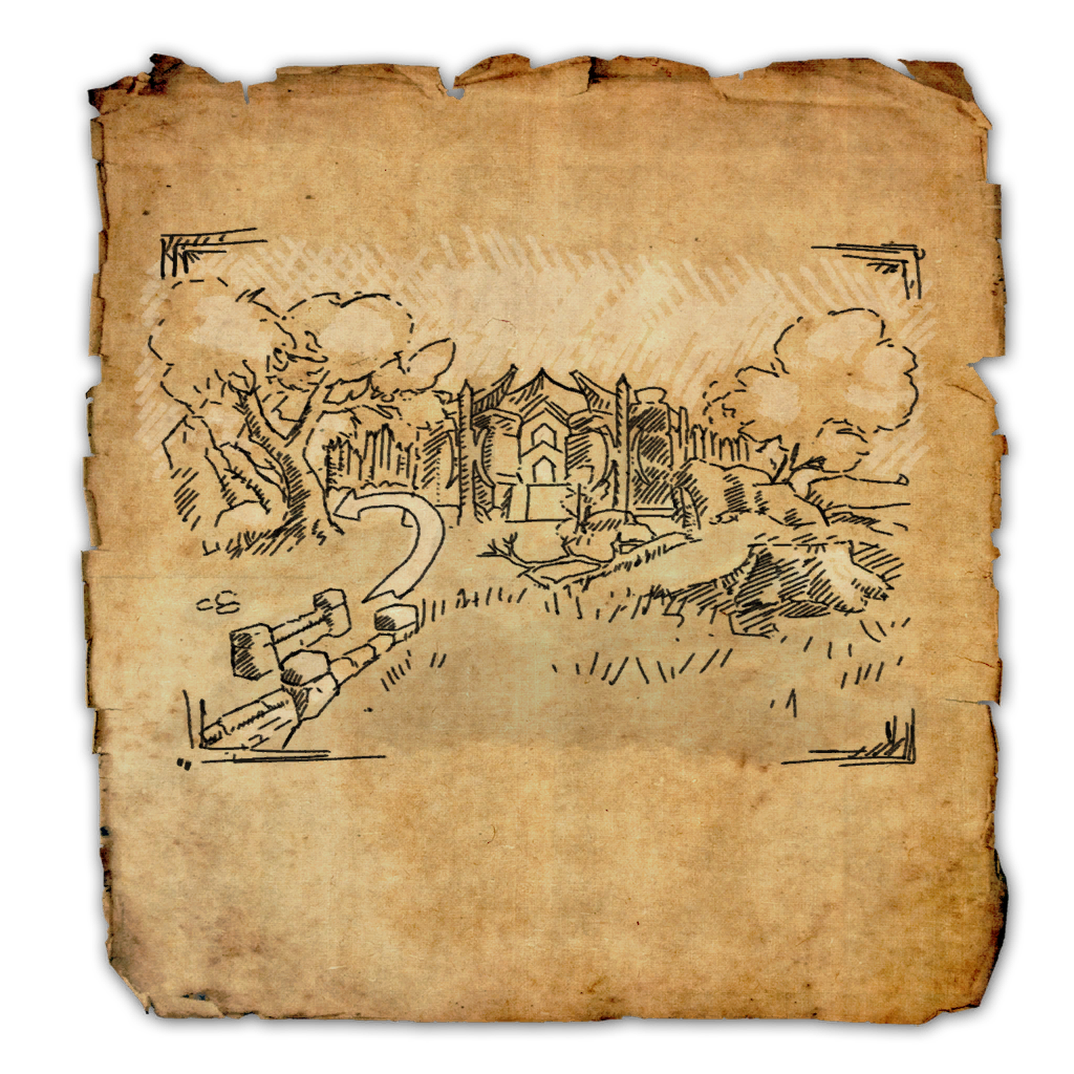 Betnikh CE Treasure Map