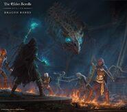 ESO Dragon Bones Wallpaper Square