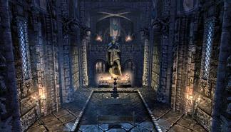 Inside Temple of Talos