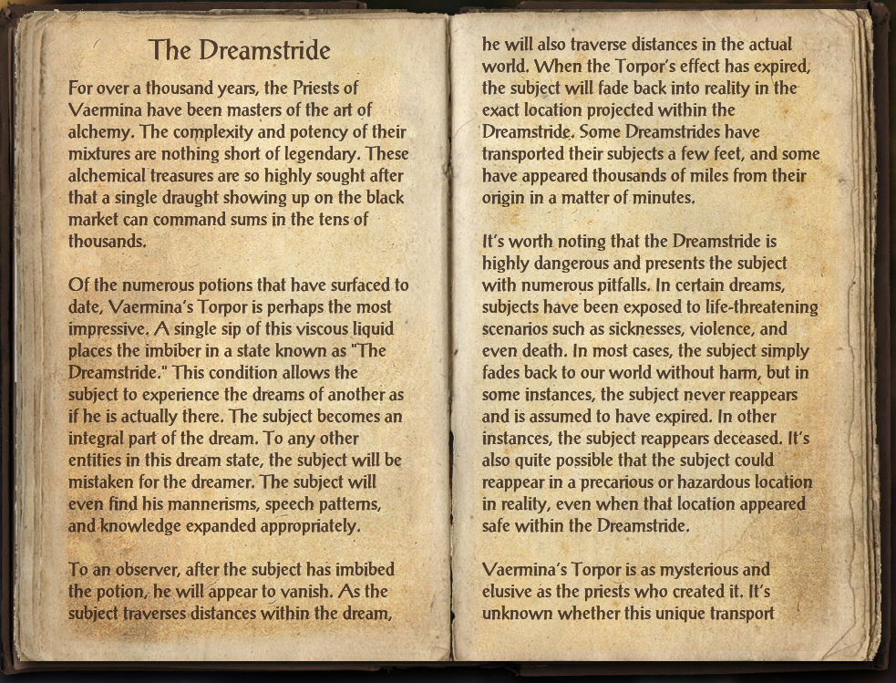 The Dreamstride (Online)