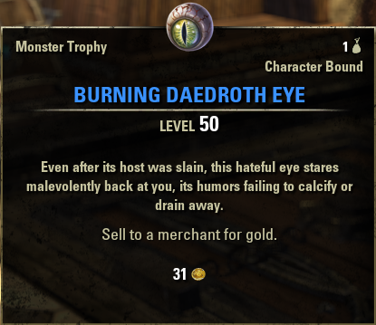 Burning Daedroth Eye