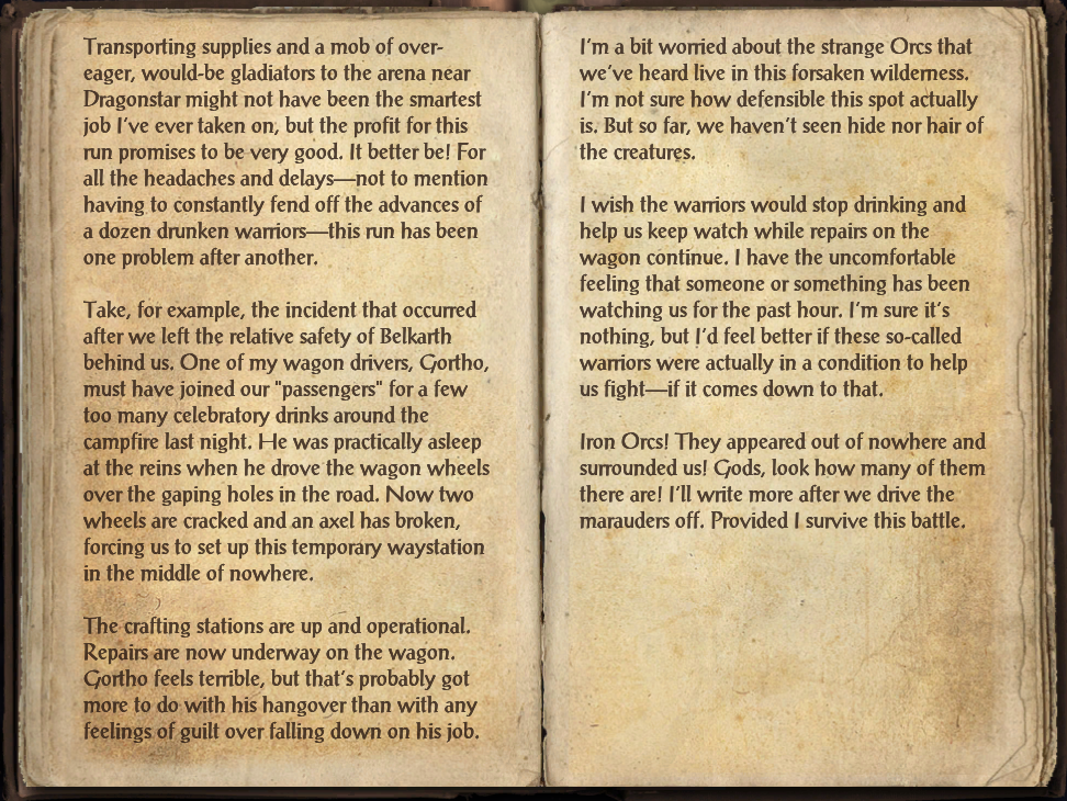 Lanista's Journal