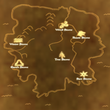 TES3 Bloodmoon - Map - Locations of the Stones.png
