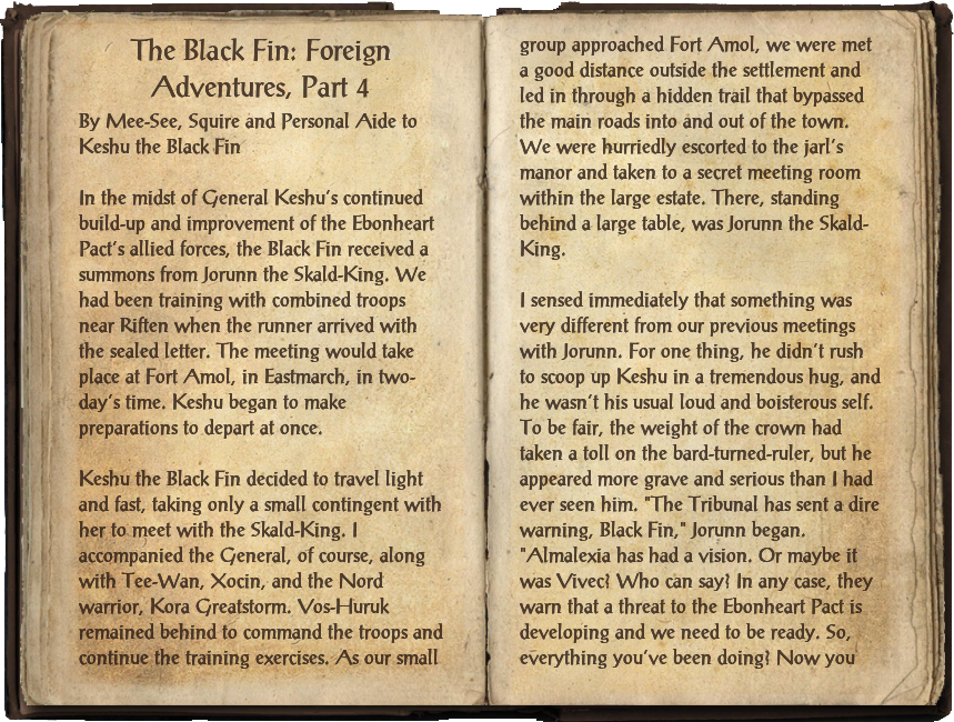 The Black Fin: Foreign Adventures, Part 4