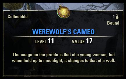 Werewolf's Cameo