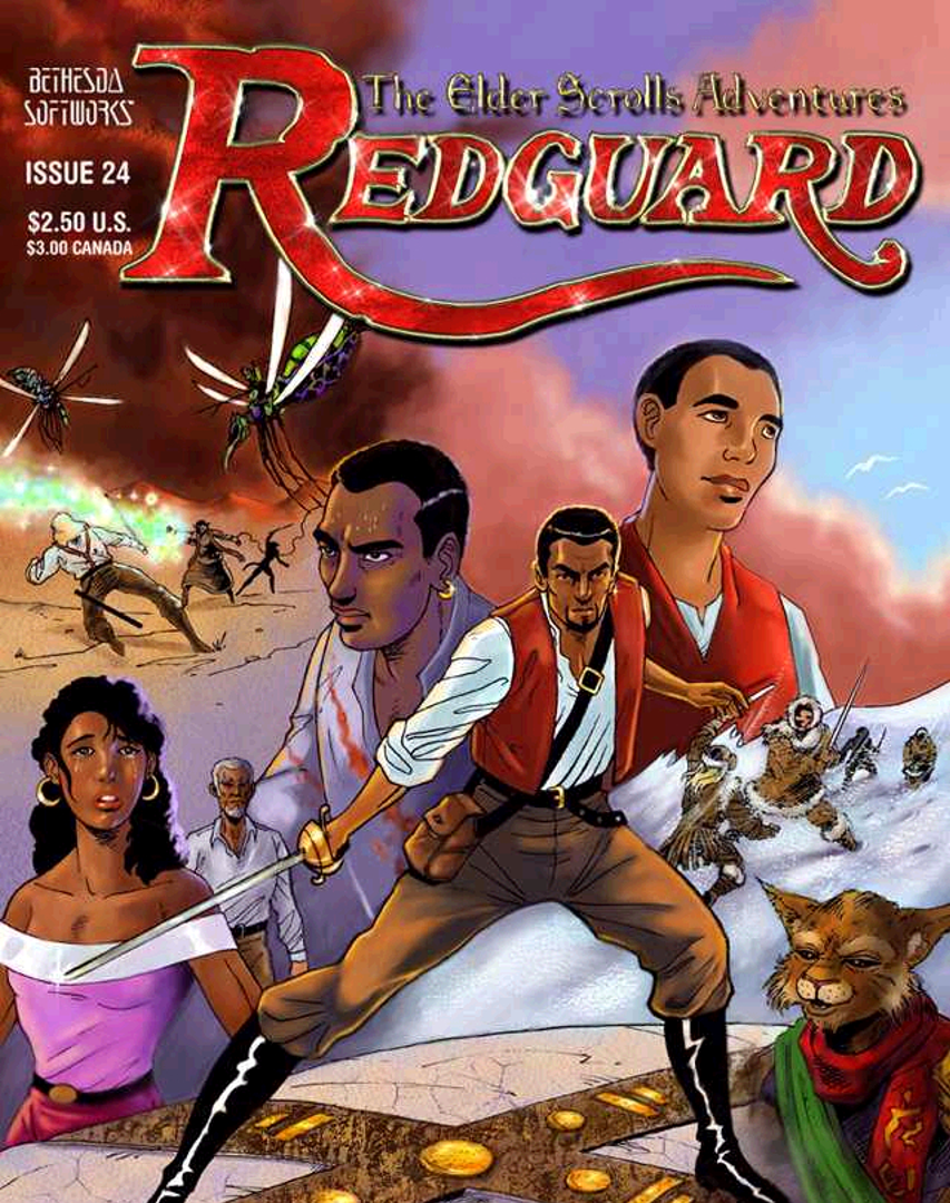 The Elder Scrolls Adventures: Redguard: The Origin of Cyrus!