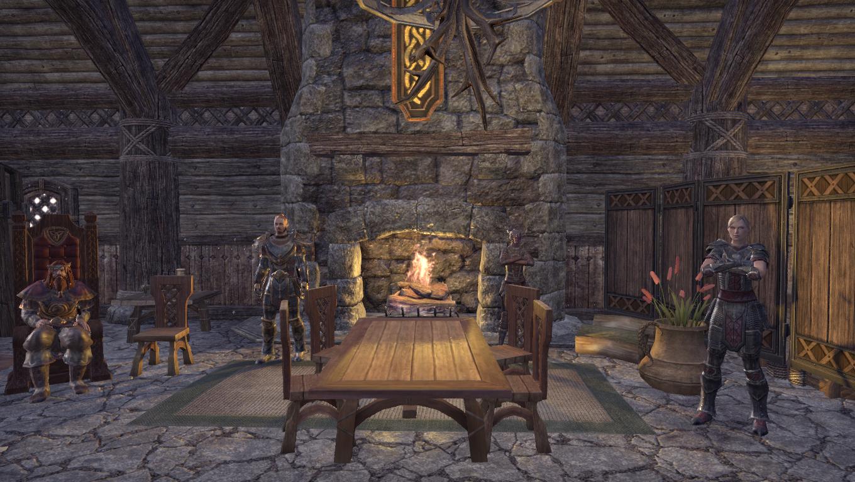 Временная резиденция Короля-Скальда