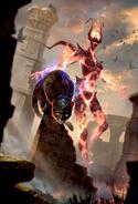 Legends - Alfiq Conjurer (Card Art)