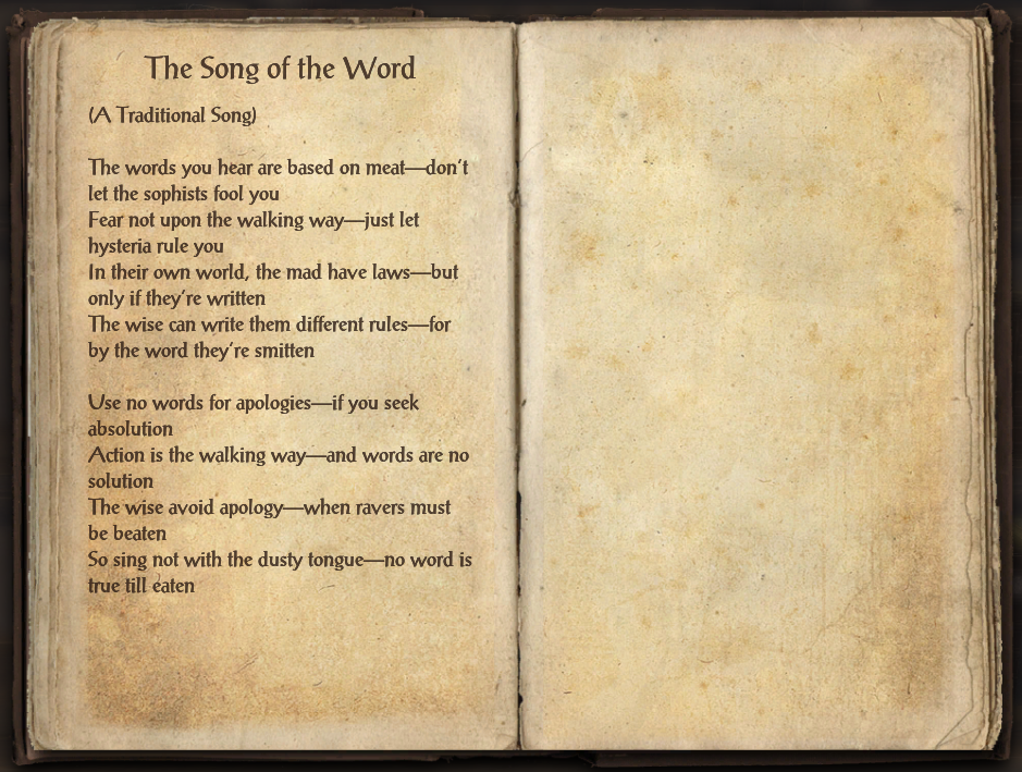 The Song of the Word