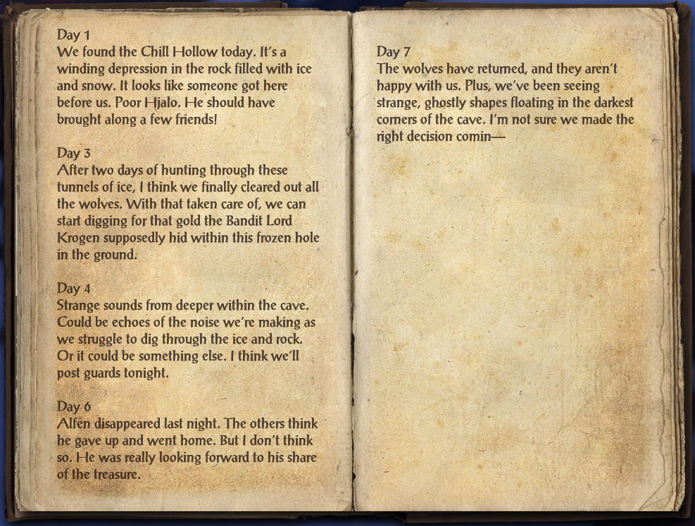 Treasure Hunter's Journal (Eastmarch)