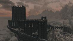 Коллегия Винтерхолда на закате