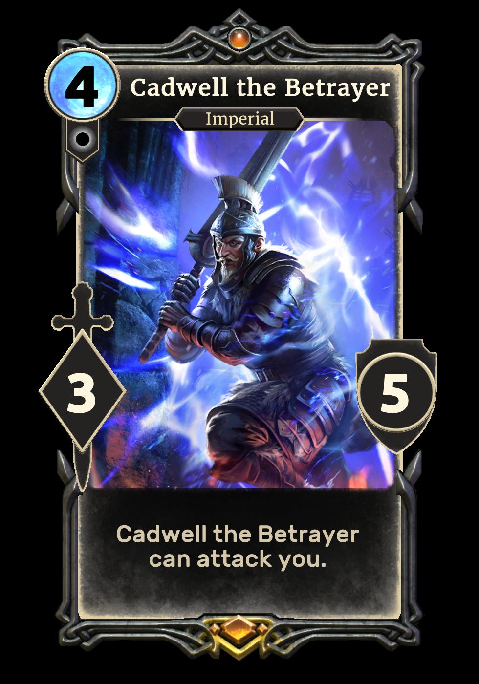 Cadwell the Betrayer (Legends)