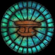 Witraż symbol Zenithara (Oblivion)