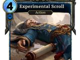Experimental Scroll