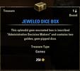 Jeweled Dice Box