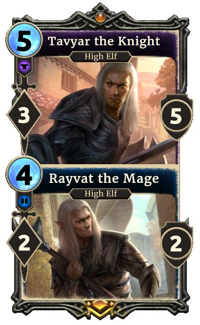Tavyar the Knight – Rayvat the Mage