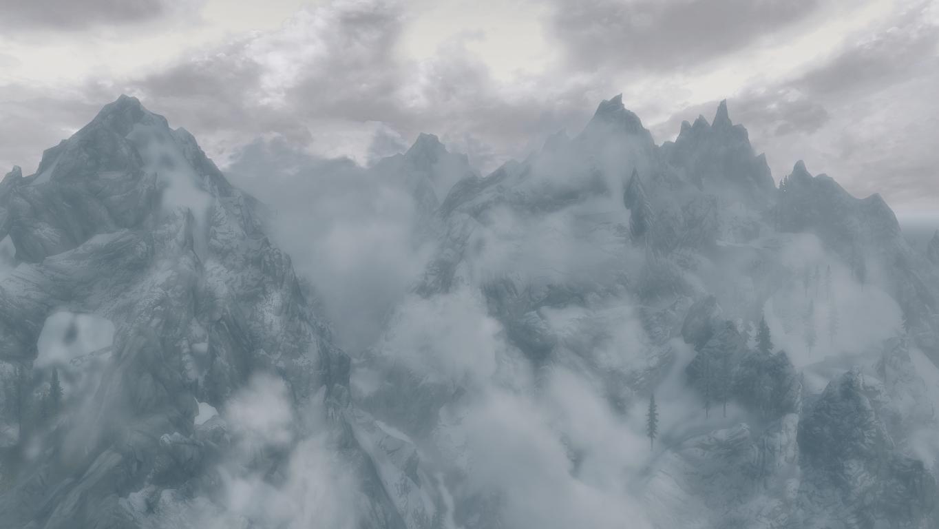 Горы Друадах