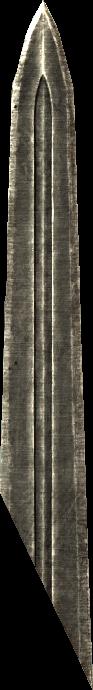 Broken Steel Sword Blade