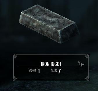 Lingotto di ferro (Skyrim)