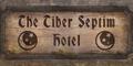 TESIV Sign TiberSeptimHotel