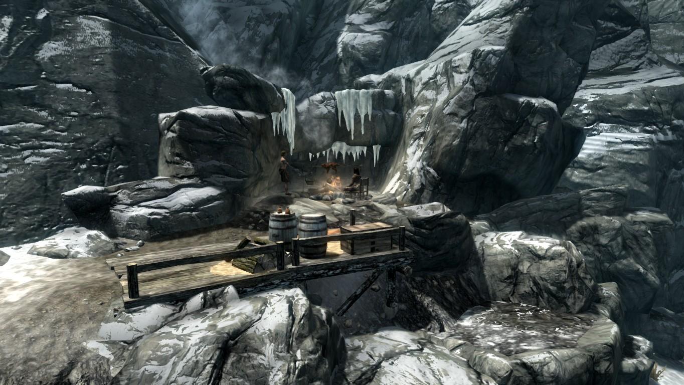 Бандитский лагерь — Тайный небесный предел