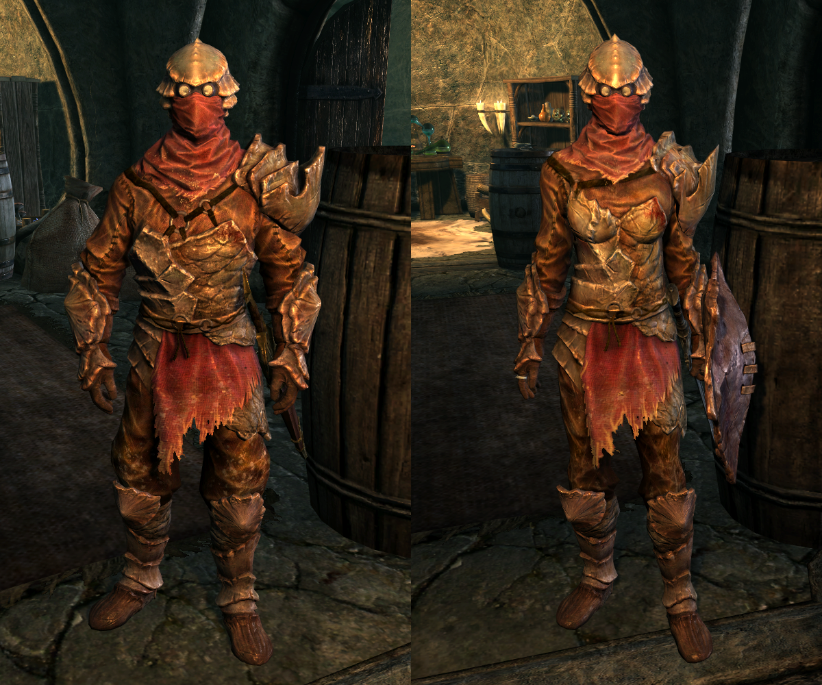 Chitin Armor (Dragonborn)