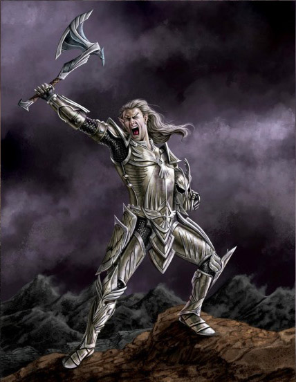 Arms and Armor of the Altmeri Champion: Falandamil
