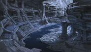 Jaskinia Falmerów (Conceptart) by Adam Adamowicz
