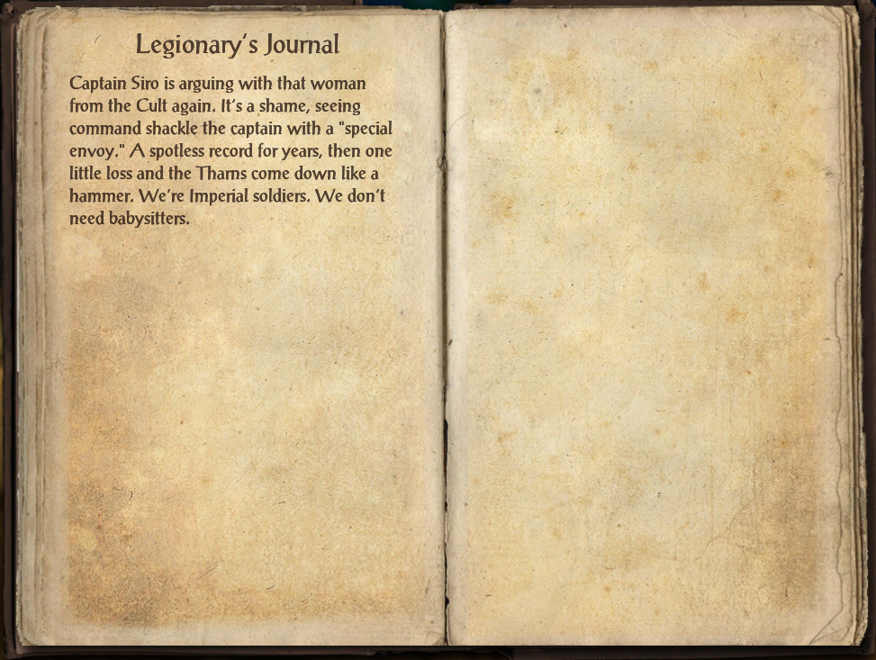 Legionary's Journal