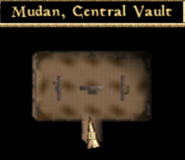 Mudan, Central Vault - Interior Map - Morrowind