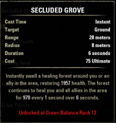 Secluded Grove