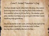 Crow's Wood Traveler's Log