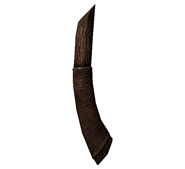 Древко сломанного железного топора