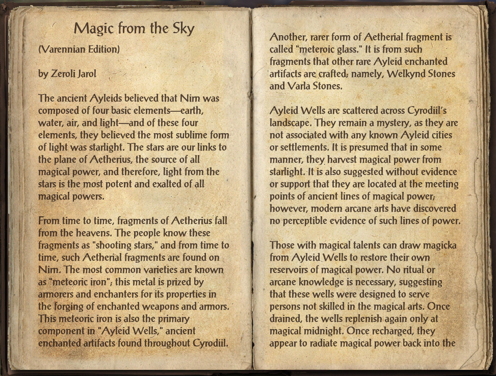 Magic from the Sky (Online)