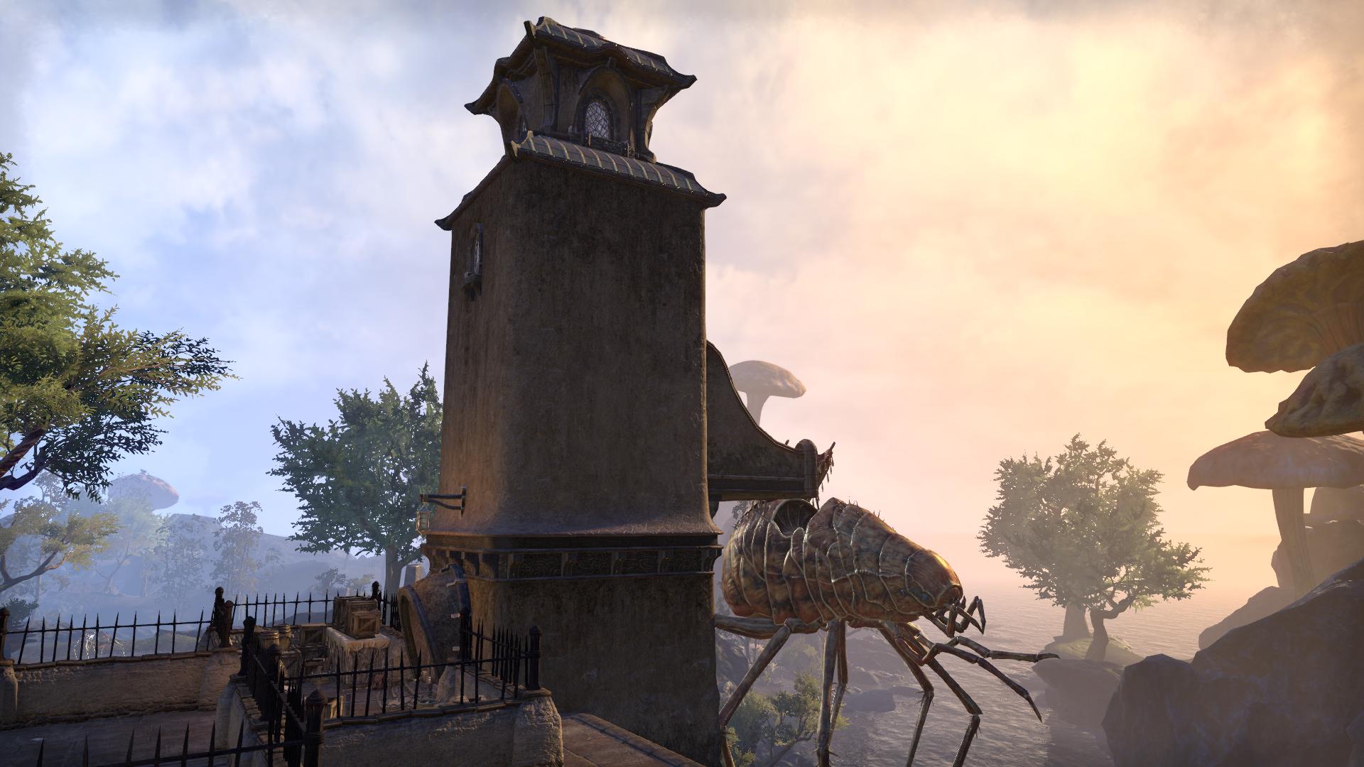 Башня караванщика (Тель Мора)