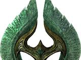 Hacha de guerra de cristal (Skyrim)