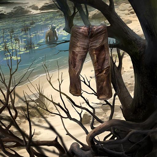 Skradzione spodnie