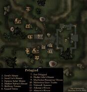 TES3 Morrowind - Pelagiad - locations map