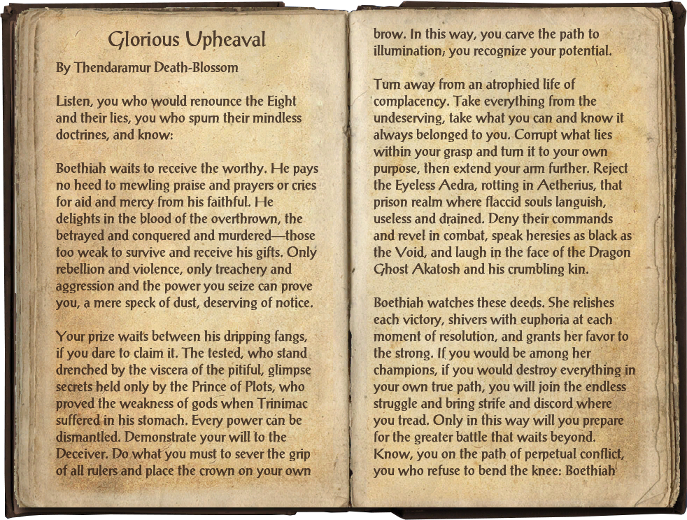 Glorious Upheaval