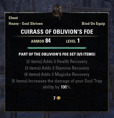 Oblivion's Foe