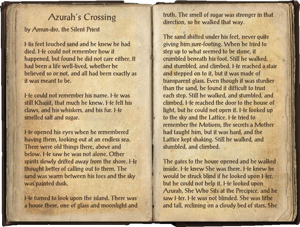 Azurah's Crossing