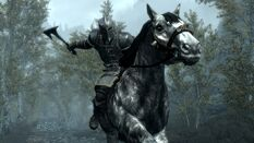 Dawnguard combattimento cavallo