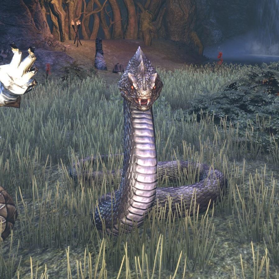 Змея Певицы
