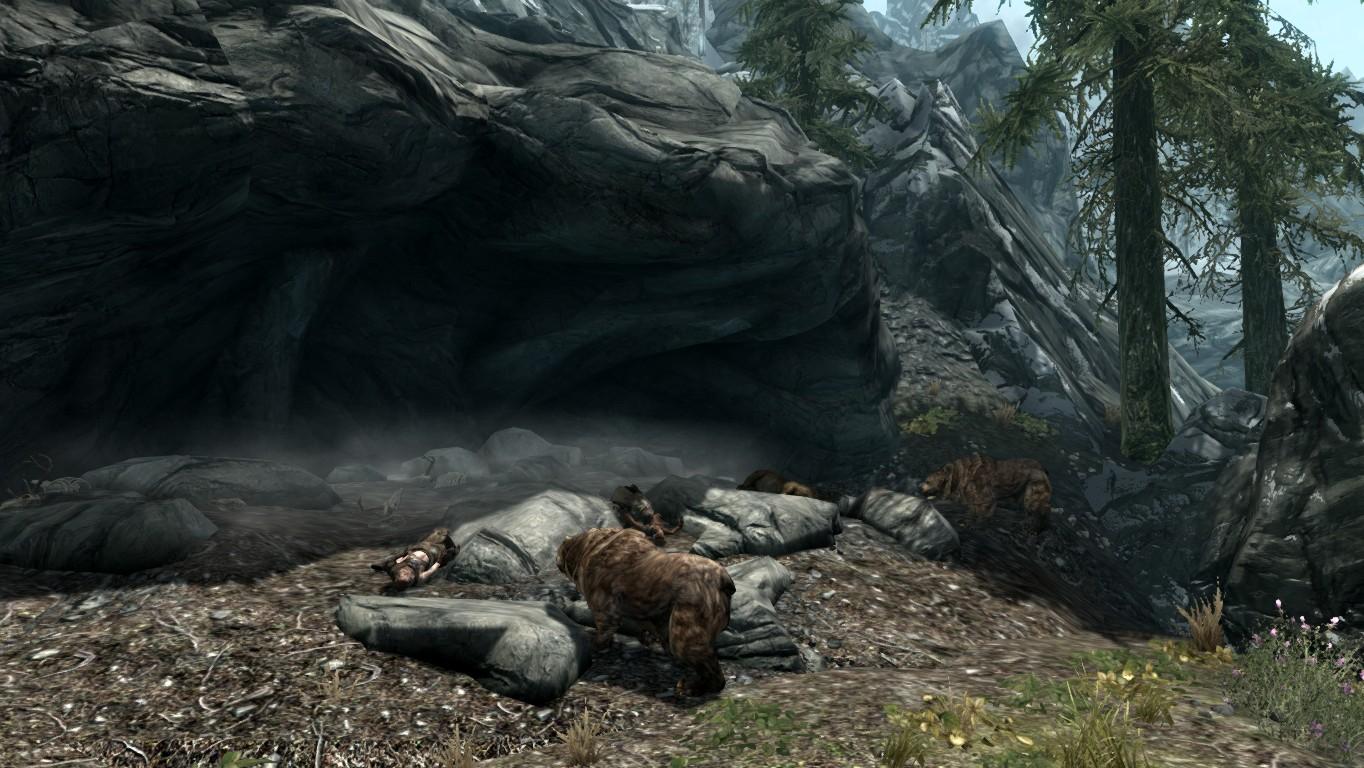 Пещера медведей — Каирн Холдира