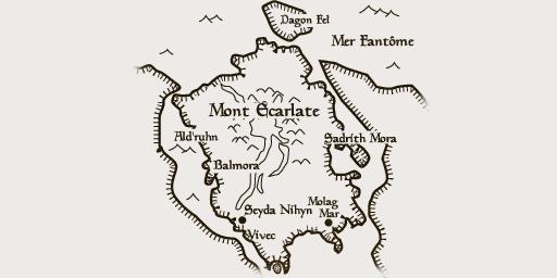 Carte du mont Ecarlate