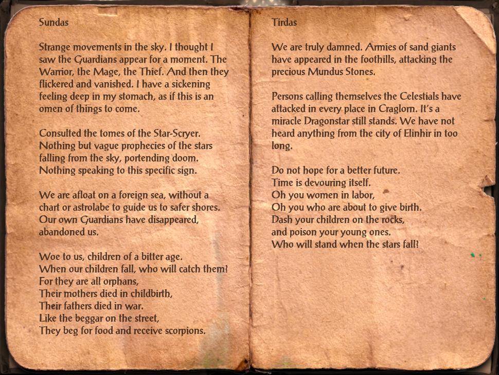 Caecilius' Journal