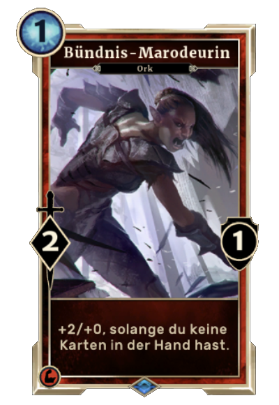 Bündnis-Marodeurin