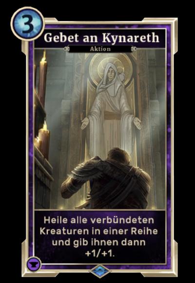 Gebet an Kynareth