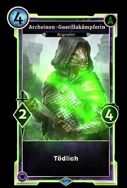 Archeinen-Guerillakämpferin